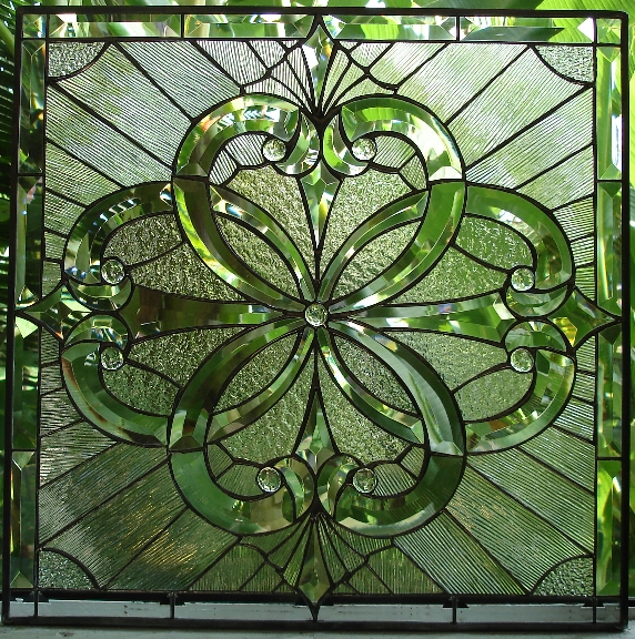 Window Glass Beveled Glass Windows