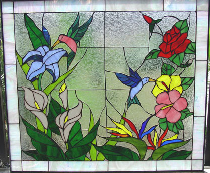 Hummingbird Flower Paradise This Has Hit The Jackpot With Roses Iris Lilies And Hibiscus Flowers Scene Captures