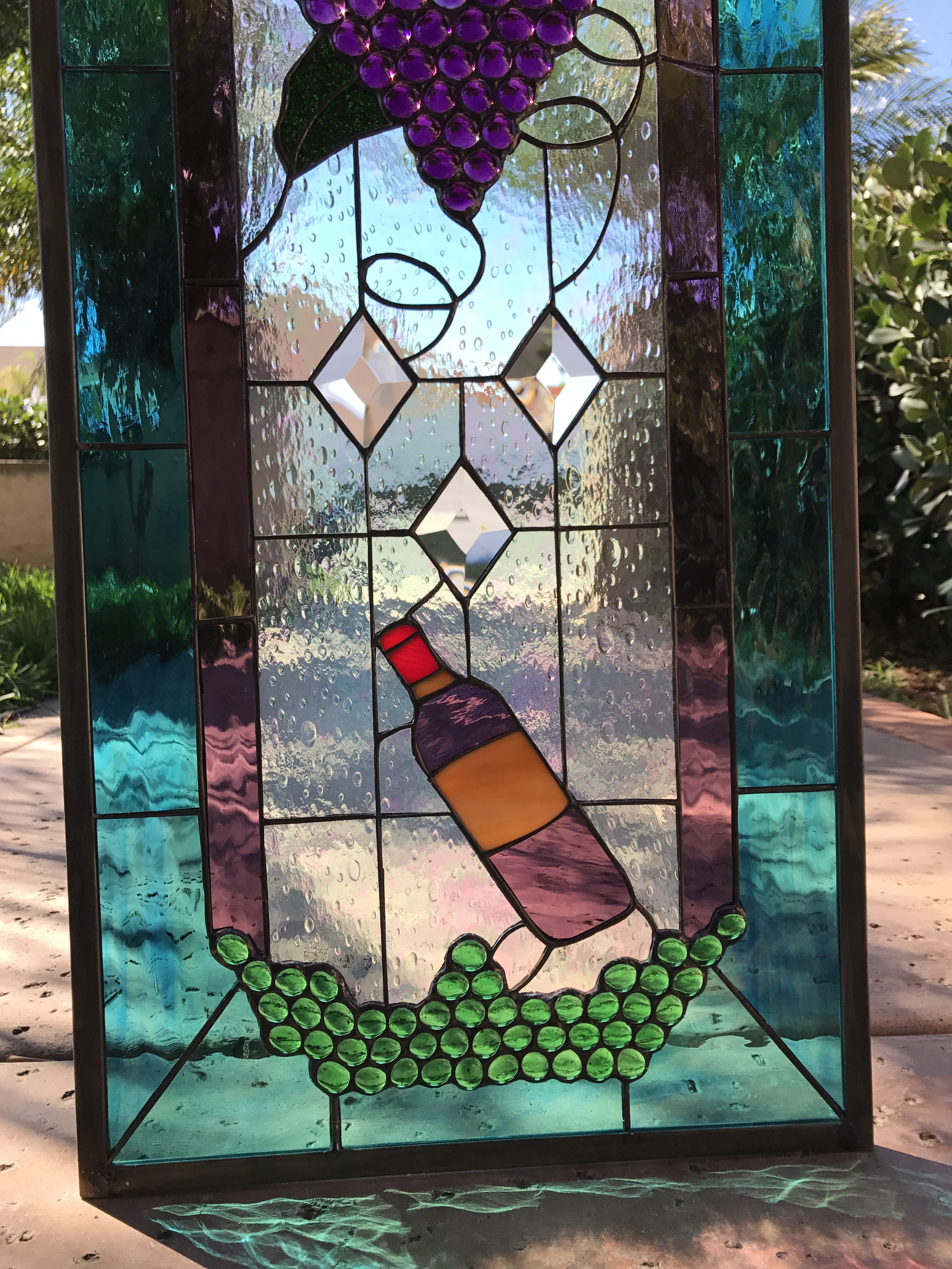 Glass Window Picture Frame