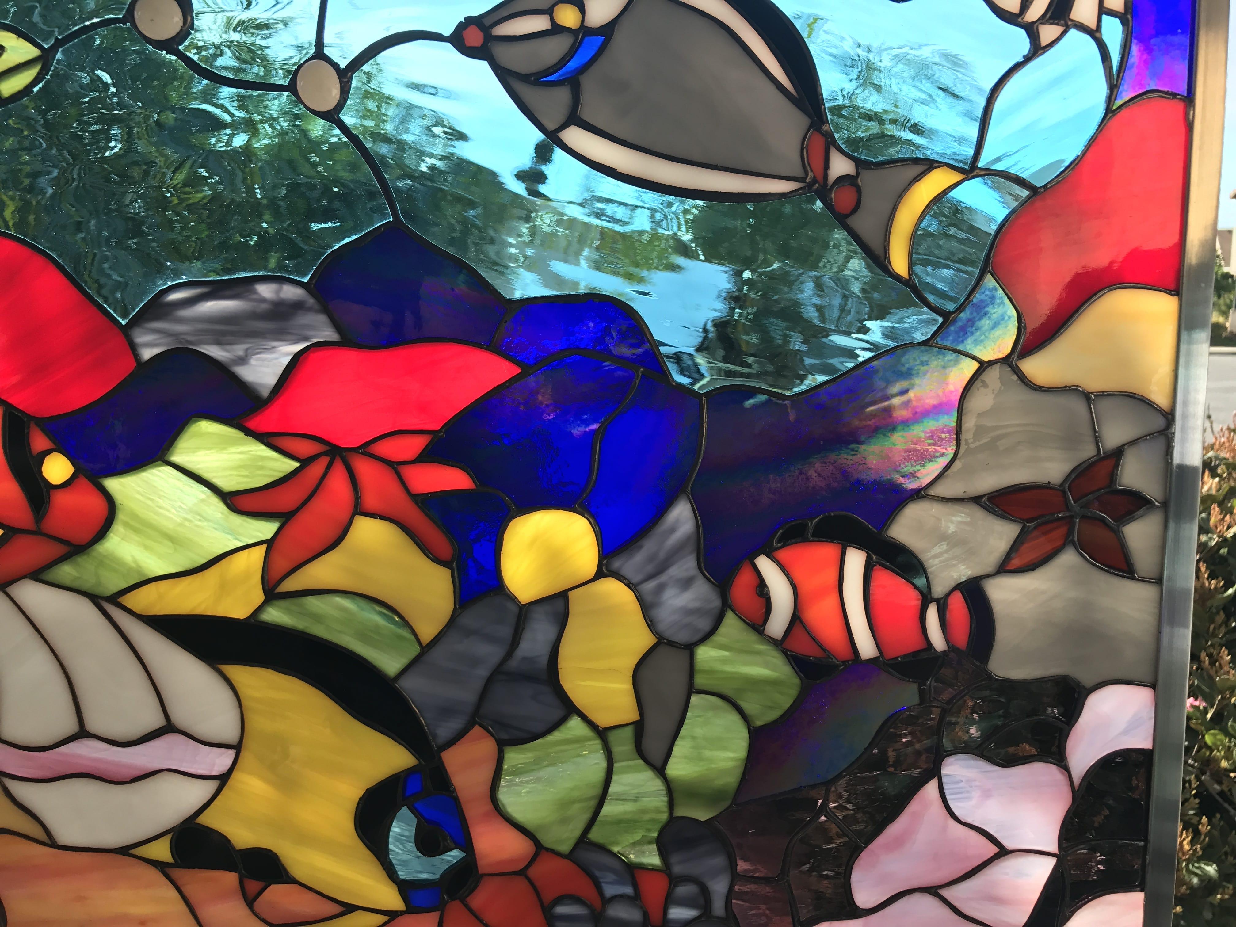 The Quot Fishtank Quot Colorful Sea Coral Clownfish Amp Turtle