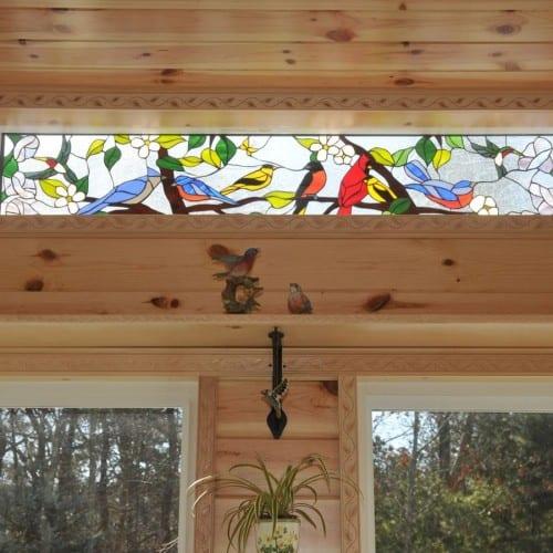 Stained Glass Transom Windows Stainedglasswindows Com