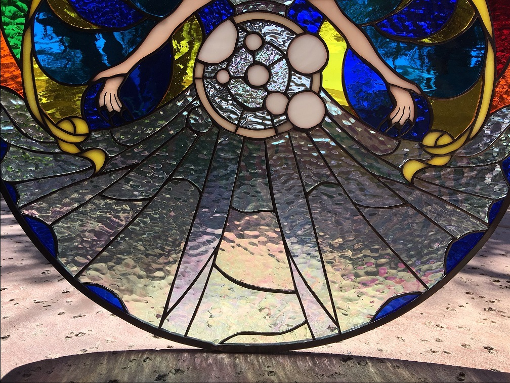 Awesome Sailor Moon Leaded Stained Glass Window We Do