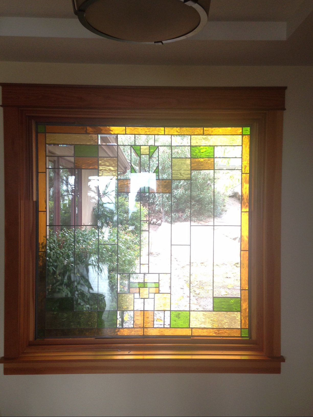 Huge Mission Craftsman Style 55 X 55 Triple Pane Insulated