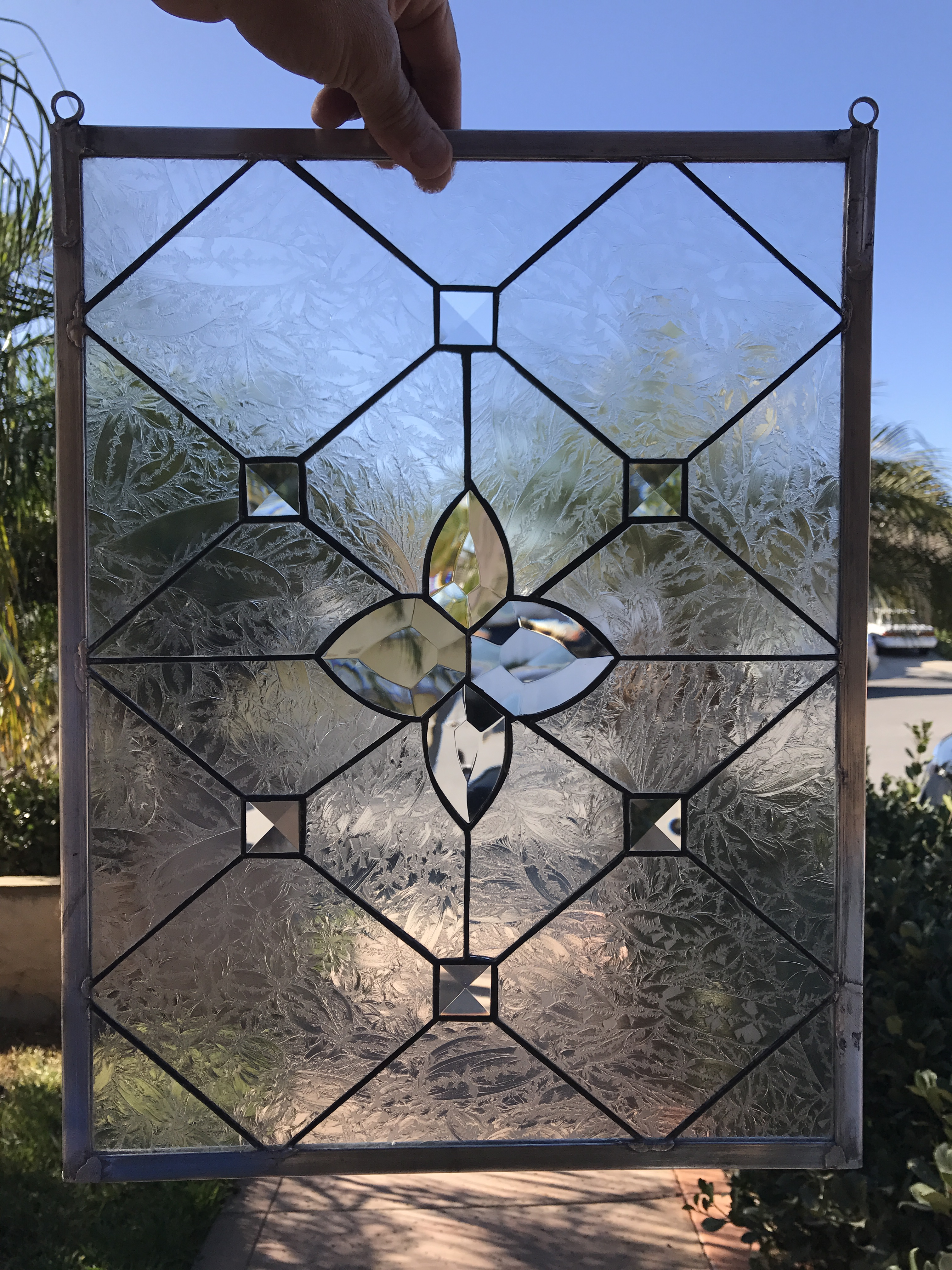 The Quot Ventura Quot Leaded Beveled Leaded Stained Glass Window