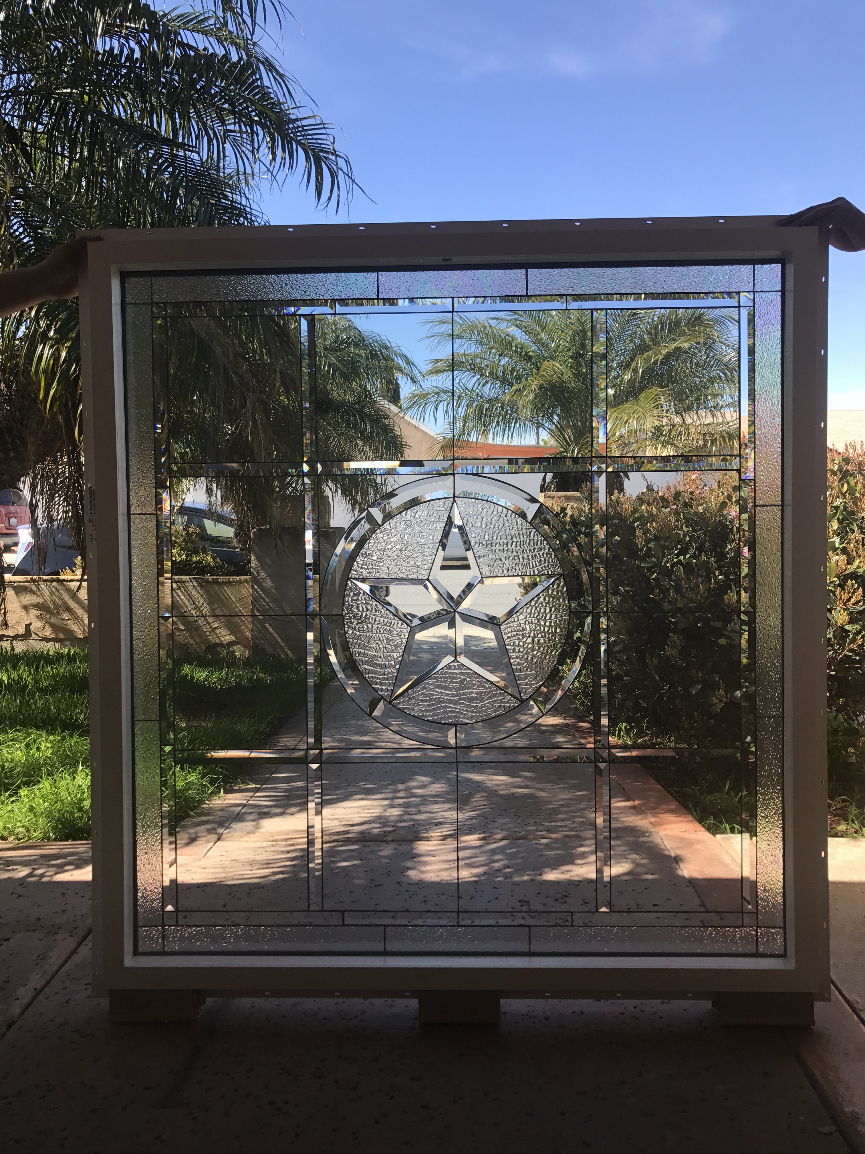 Install Ready Magnificent 46 X 48 Beveled Texas Lone Star