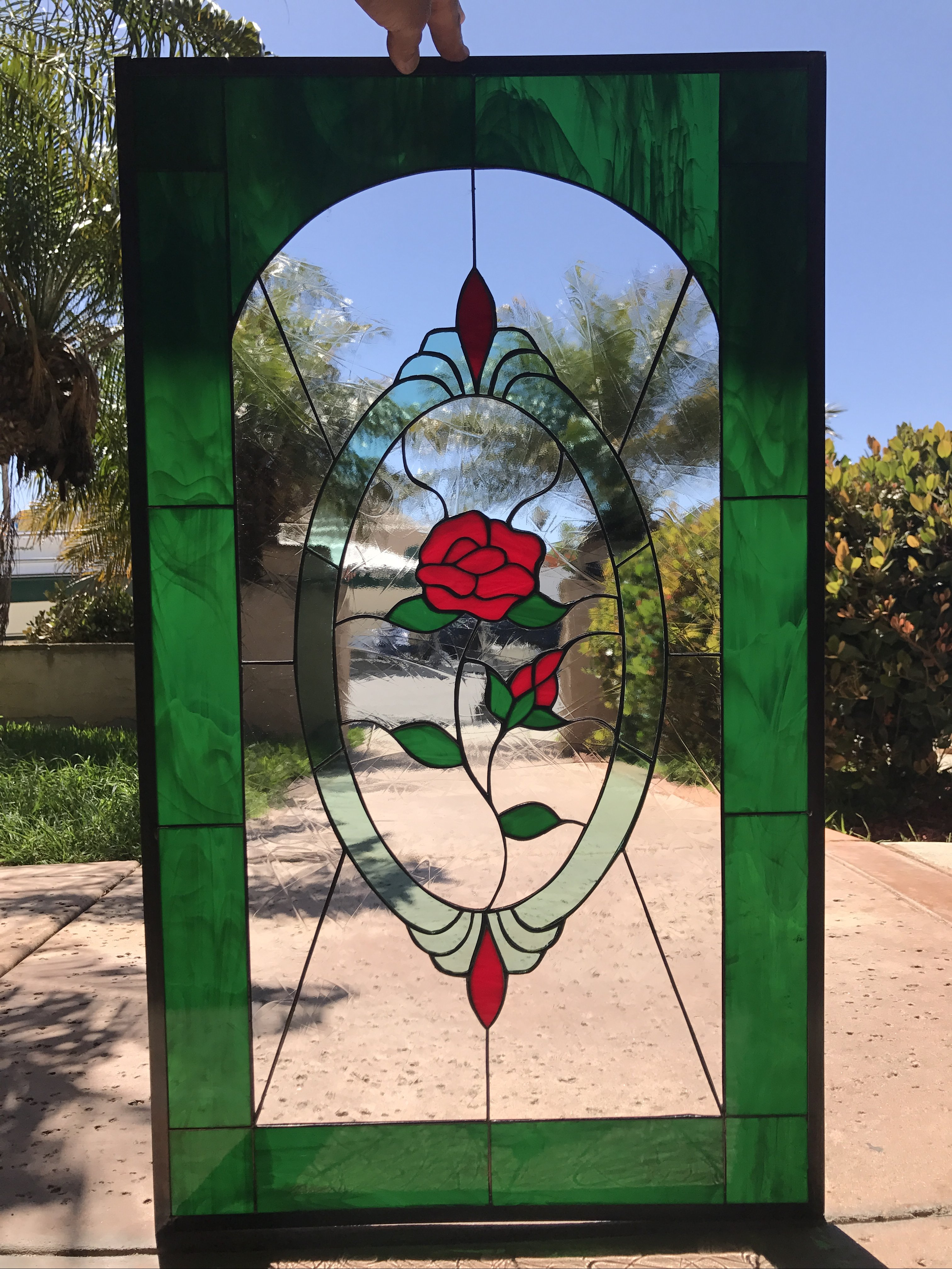 Stained Glass Panels For Window
