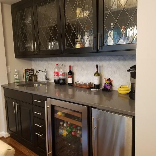 Classic Diamond Tudor Style Kitchen Cabinet Inserts
