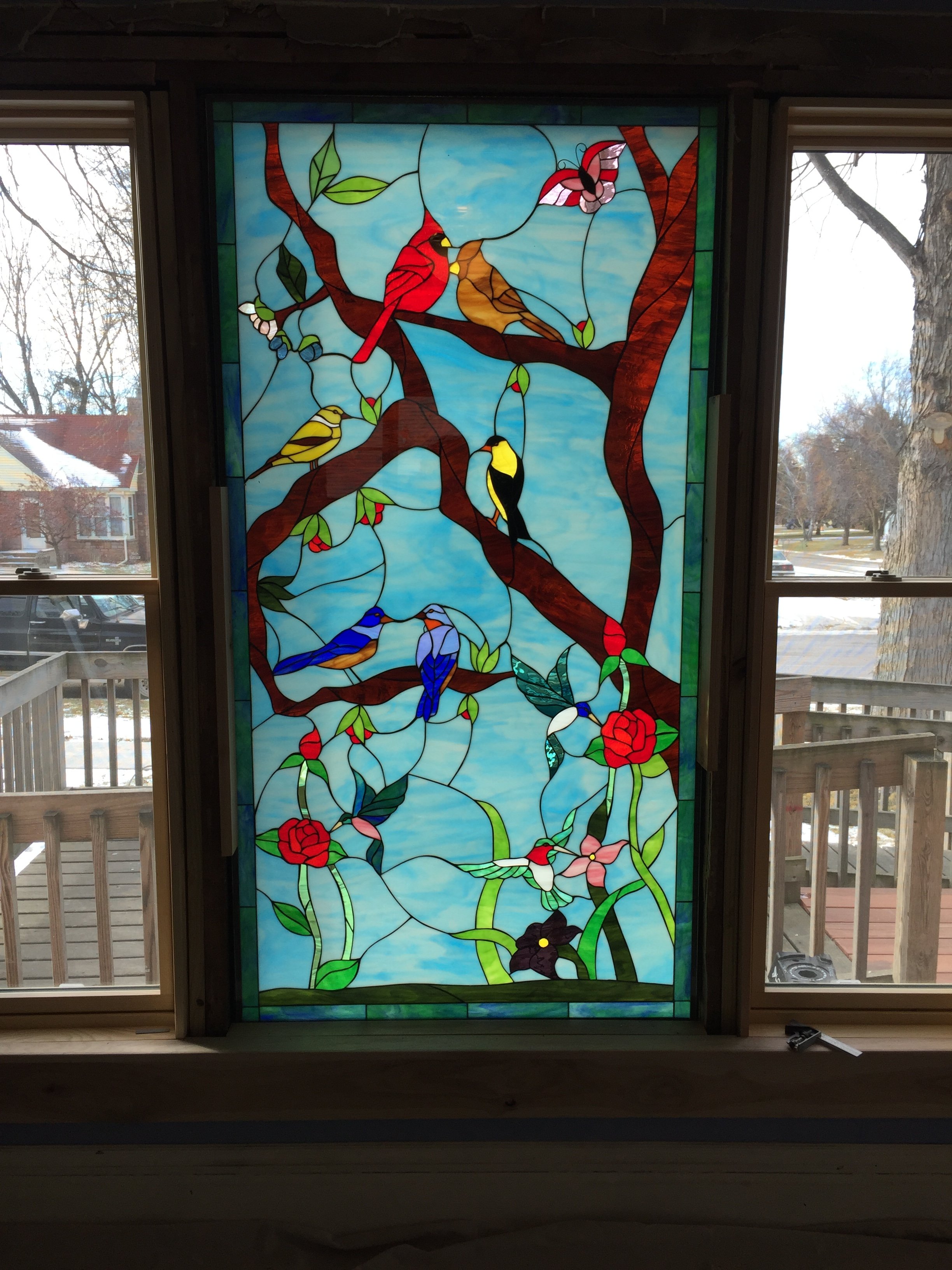 Custom Stained Glass Windows Panels Doors And Gifts