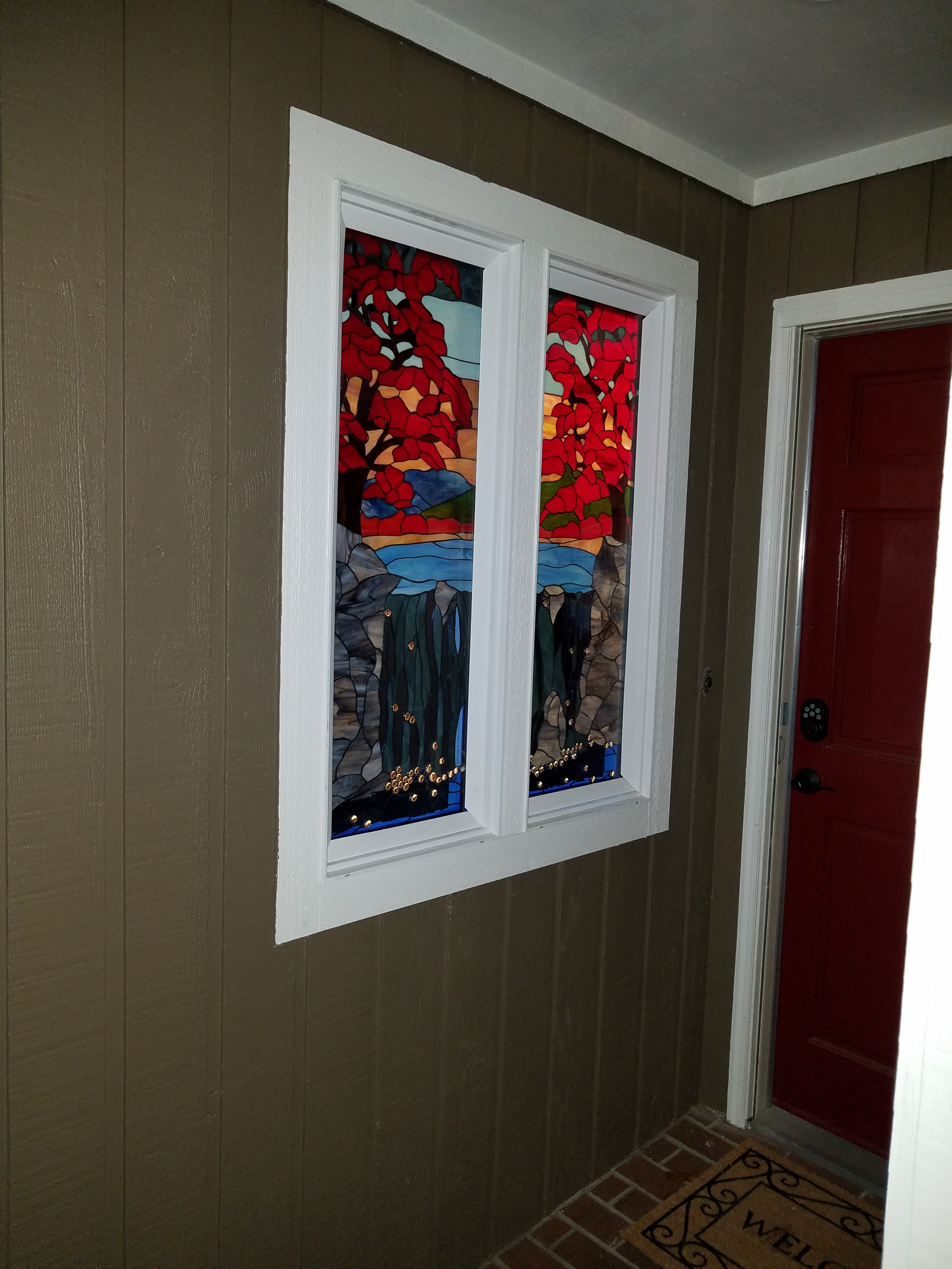 Stain Glass Barn Doors Price Attractive Personalised Home
