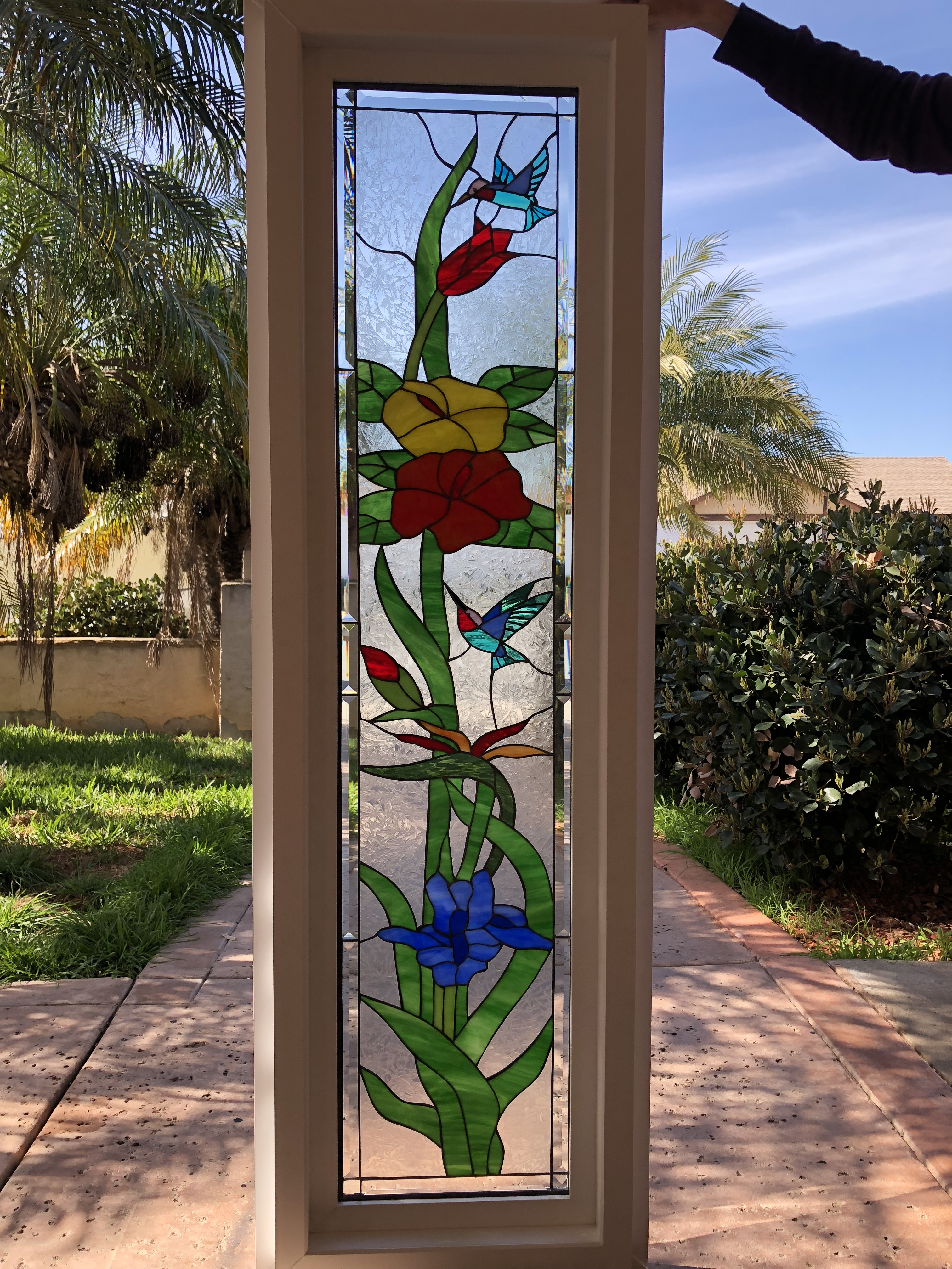 Vinyl Framed And Tempered Glass Insulated The