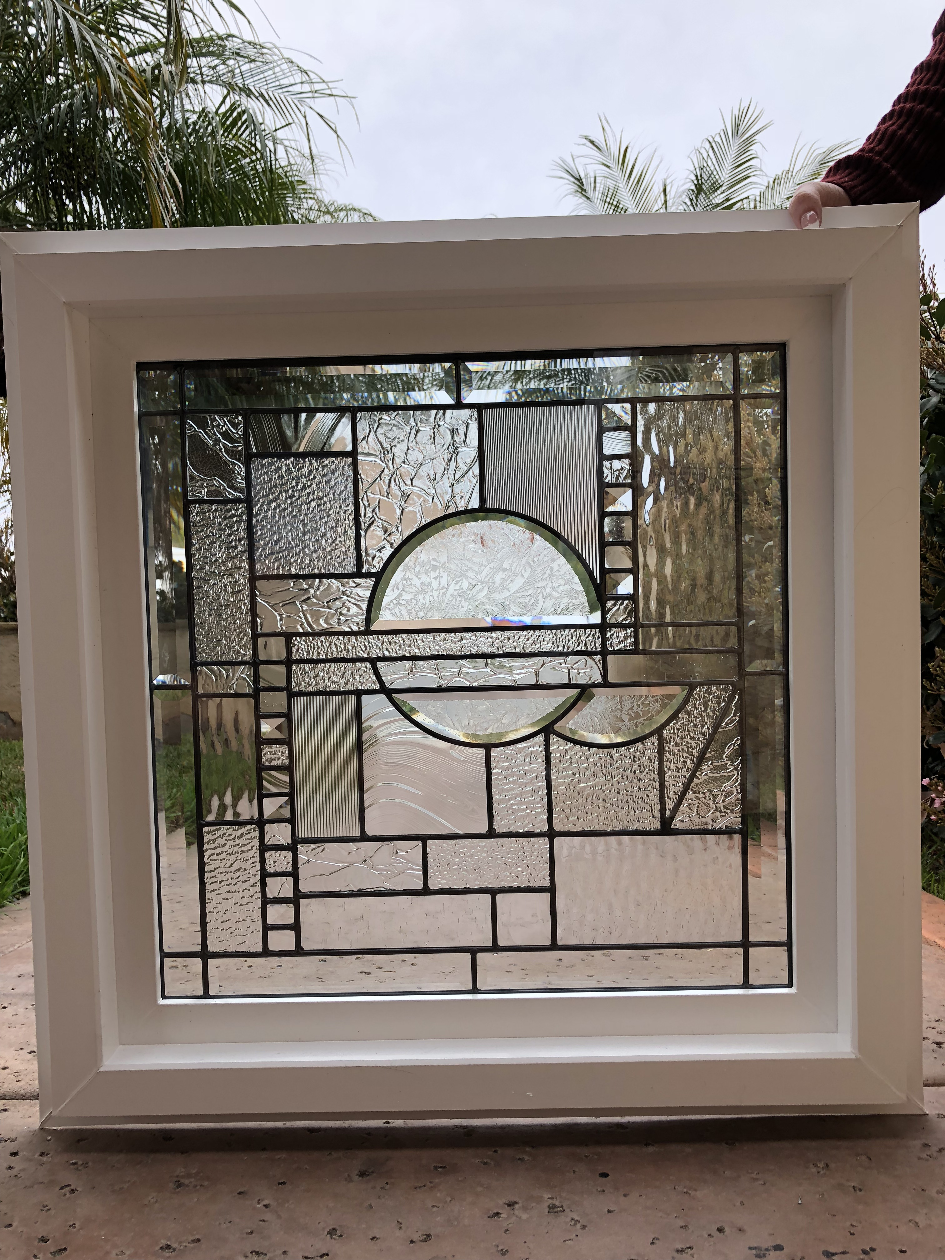 The Quot Palos Verdes Quot Mission Beveled Leaded Stained Glass
