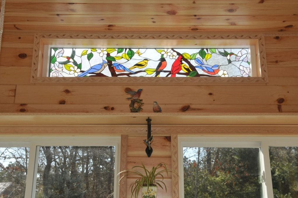 So Colorful! The Lovely Stained Glass Bird Gathering