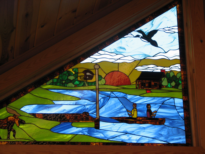 Custom Designed Triple Glazed Gable Windows Made For A Client In Wisconsin