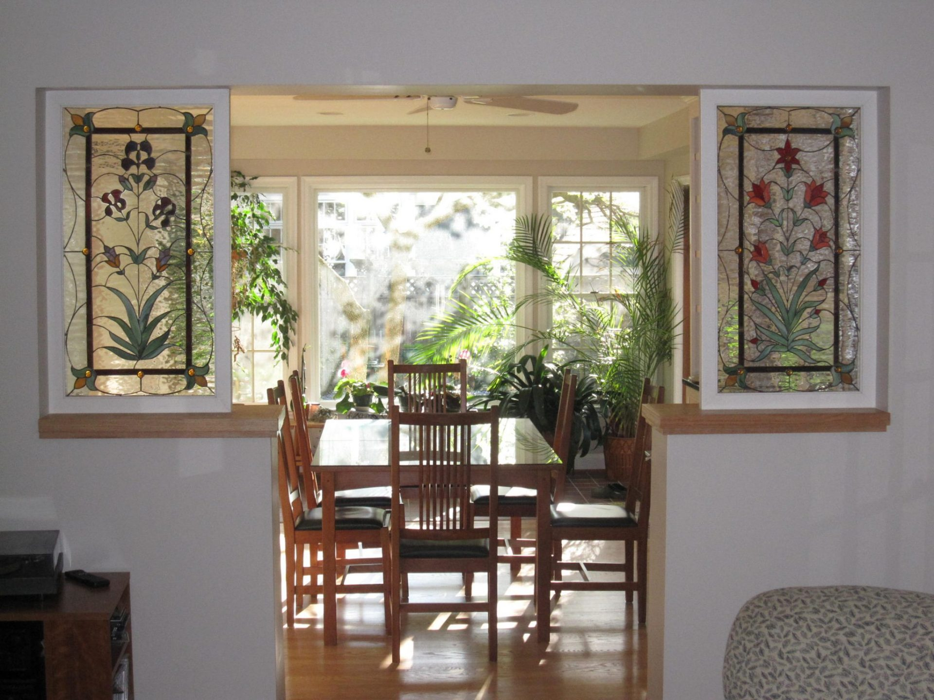 Stained Glass Interior Room dividers