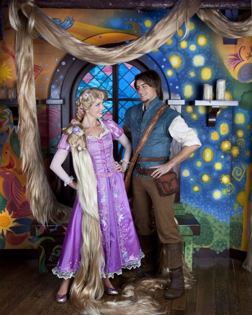 Stained Glass Tangled - Rapunzel and Flynn Rider
