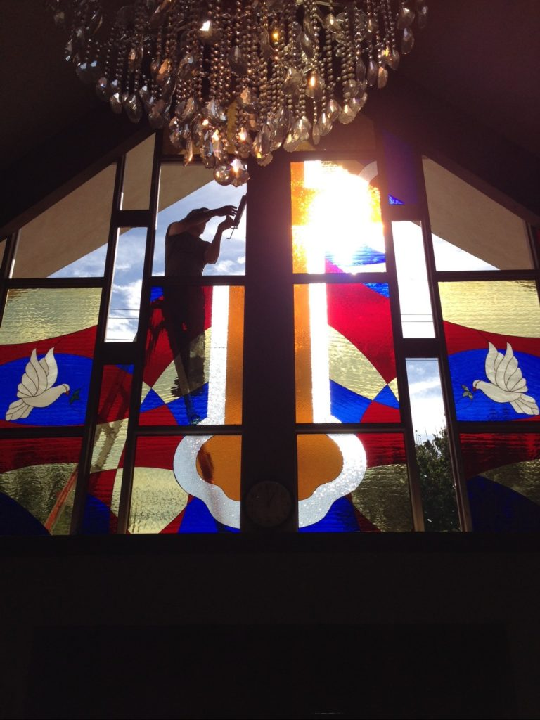 Stained Glass for a Church