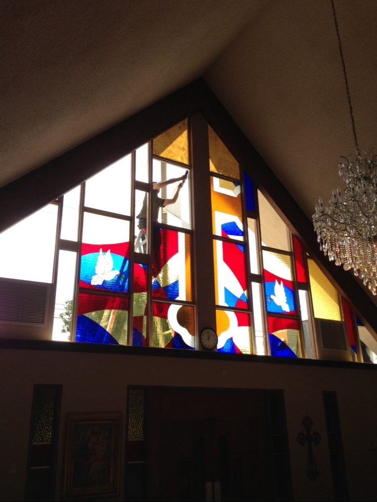 Stained Glass Windows for a Church
