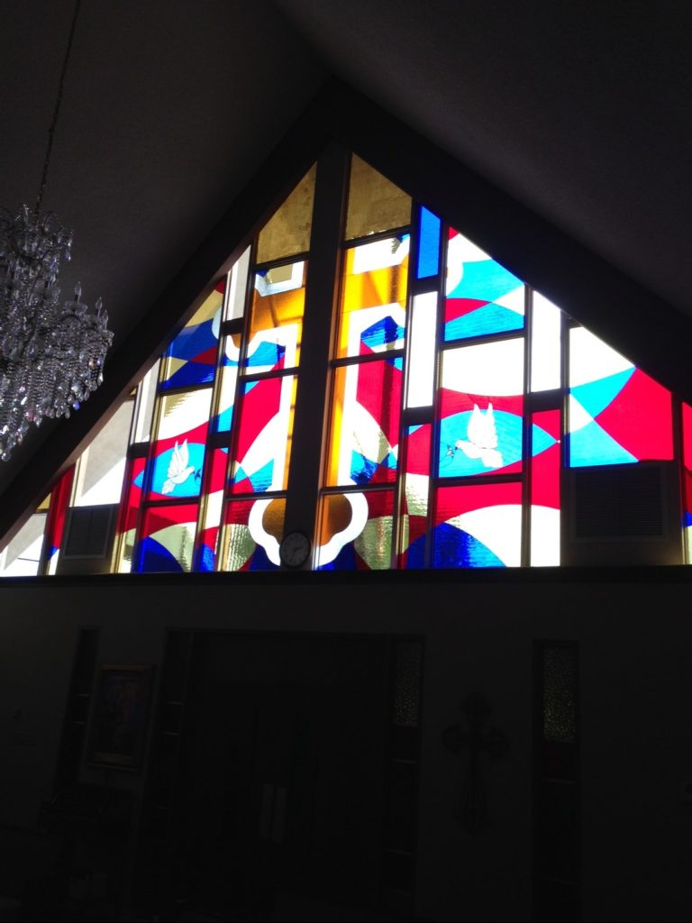 Multiple Stained Glass Windows for a Church