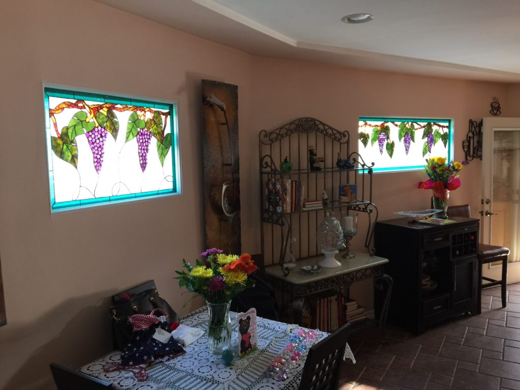 Beautiful GrapeVine Windows Installed Into a Kitchen