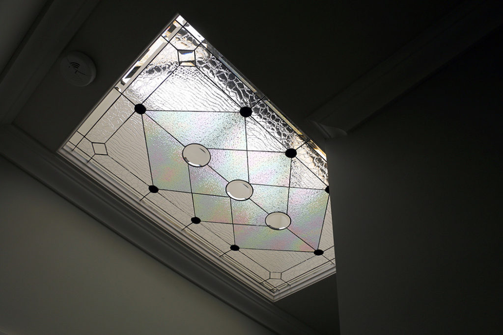 Beveled And Stained Glass Skylights