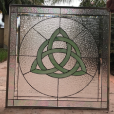 Custom-build Stained Glass Logo or Emblem