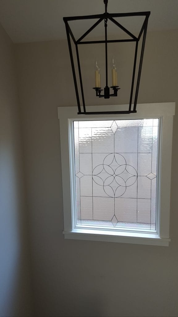 Large Beveled All Clear Window