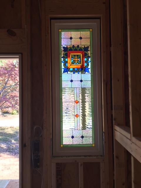 "Custom designed! Multiple ""Talavera Tile"" Vinyl framed and insulated windows"
