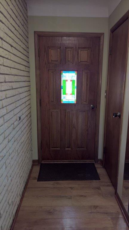 mission style door insert