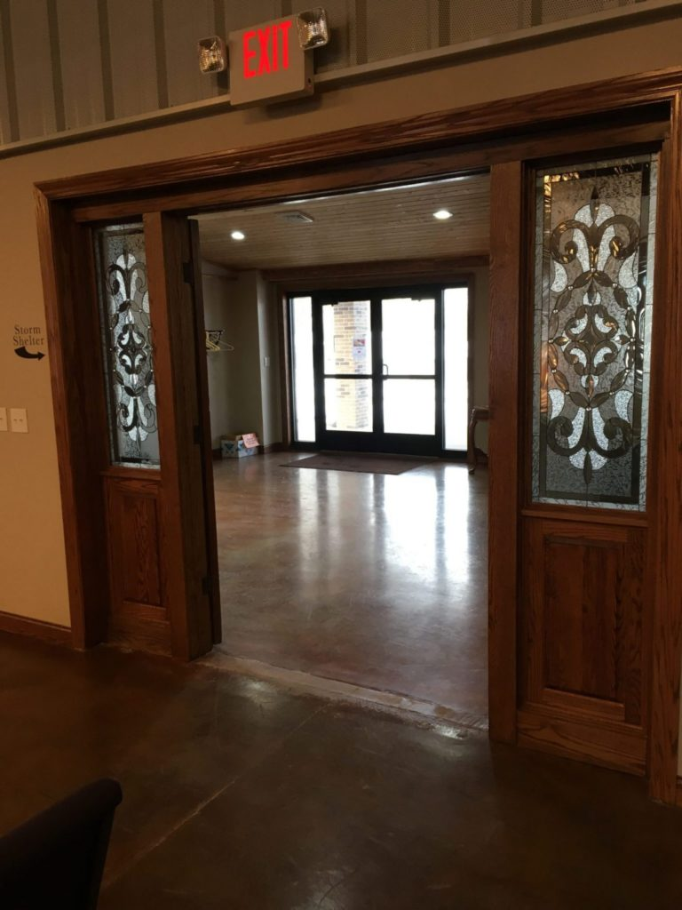Classic Victorian Stained Glass Window Panels
