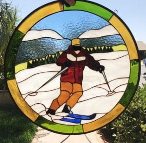 Sports Stained Glass Windows