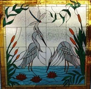 Animals & Birds Stained Glass WIndows