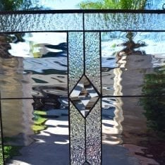 Stained Glass for Kitchen Windows, Cabinet Inserts and Doors