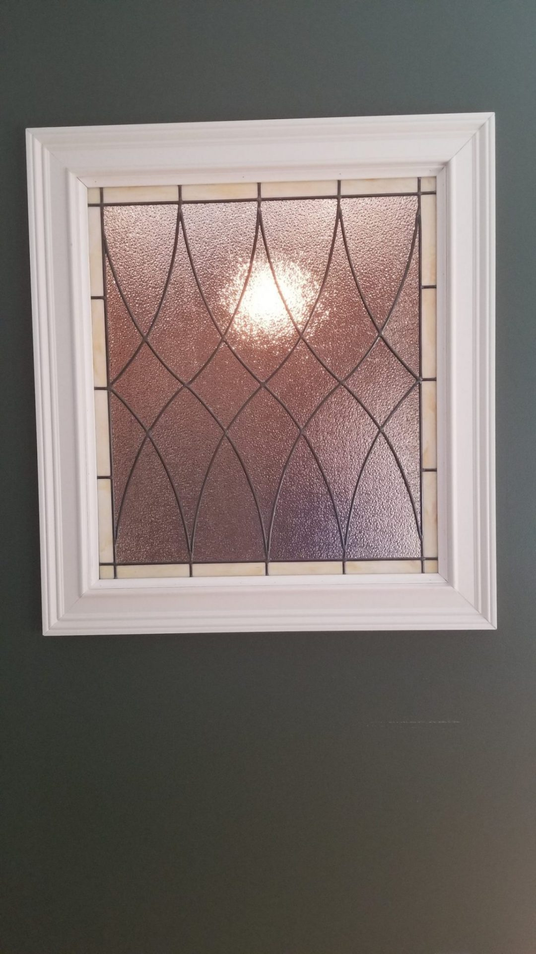 Traditional Single Pane Interior Stained Glass