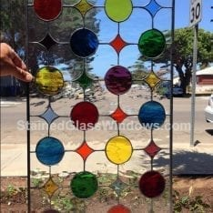 Monterey Park Leaded Stained Glass