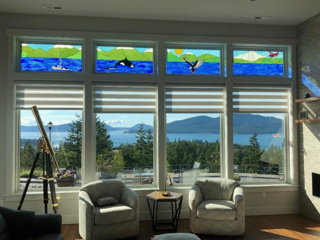 Wow! Four Pacific Northwest Transom Windows Installed In A Home In Washington