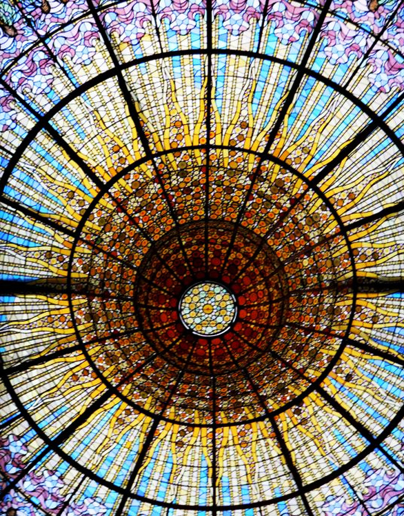 Stained glass used in different parts of the world