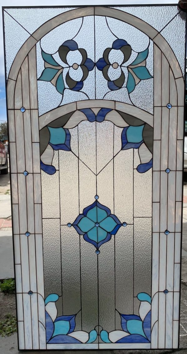 "The Beautiful! ""Cupertino"" Stained Glass Window Panel"