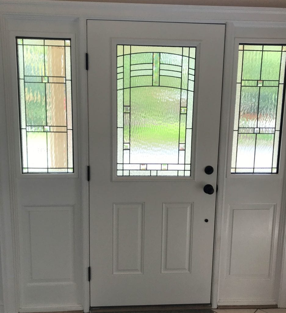 Leaded triple-pane Insulated Stained Glass