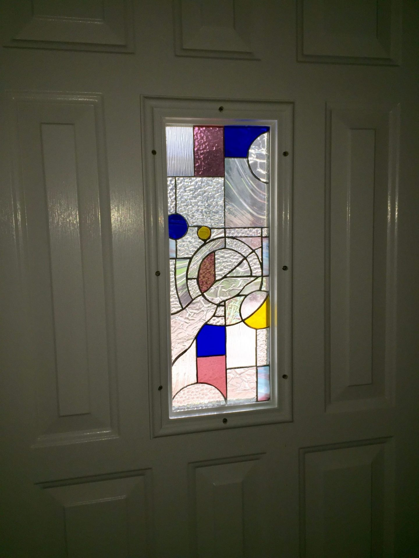 Small Tempered Glass Stained Glass Insulated Unit