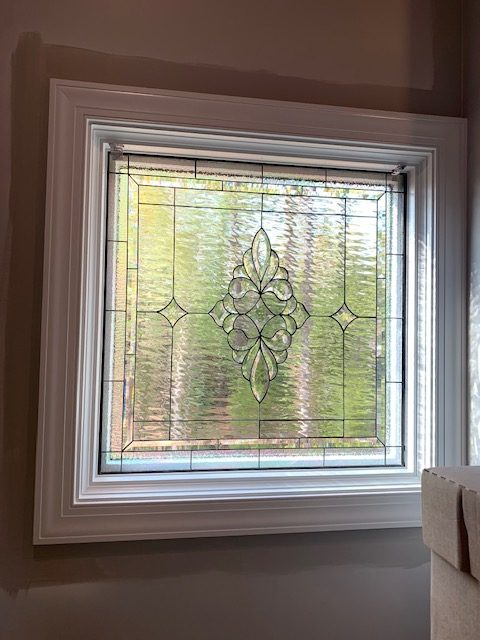 All Clear Leaded Windows Installed In A Living Room