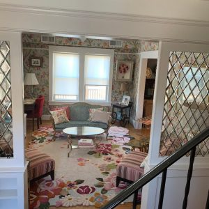 Wow! Classic All Beveled Diamonds Leaded Glass Interior Partitions