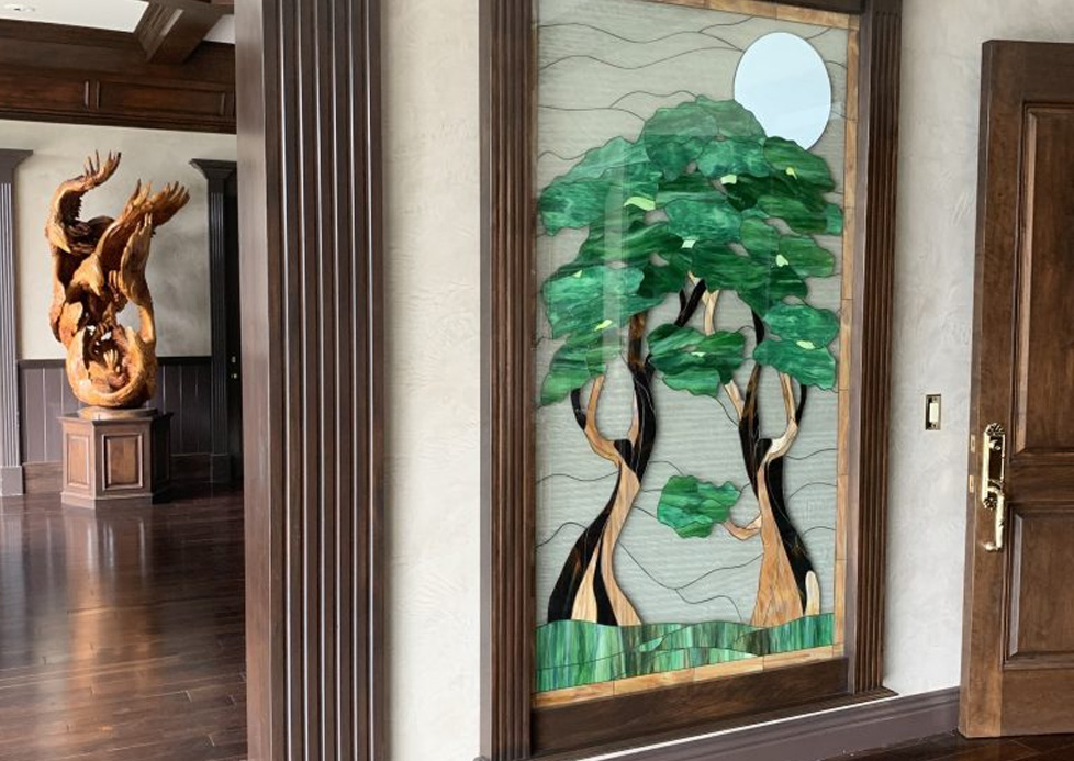 Stained Glass Window Accents