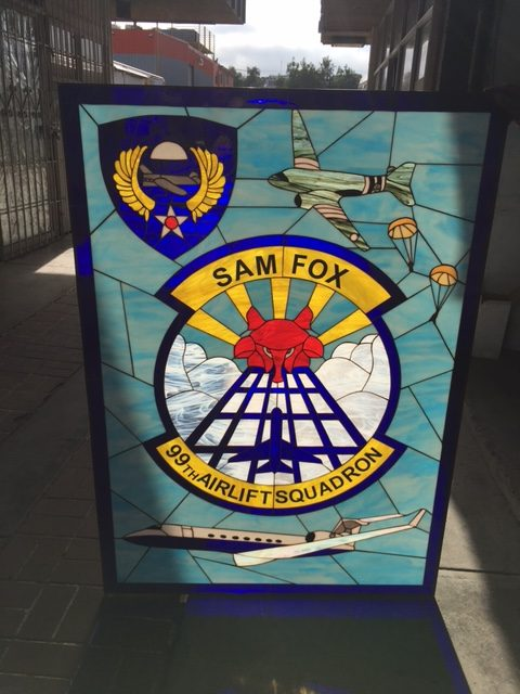 MILITARY AIR FORCE DINING HALL Logo Sam Fox