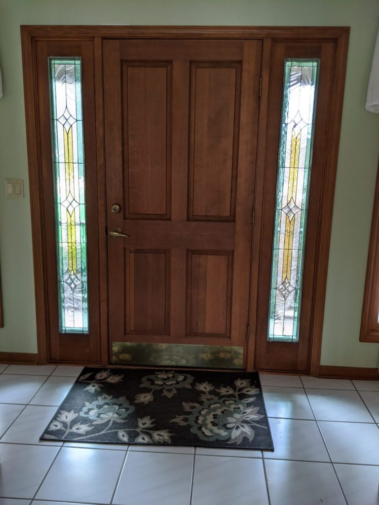 Classic Mission/ Craftsman Style Sidelights