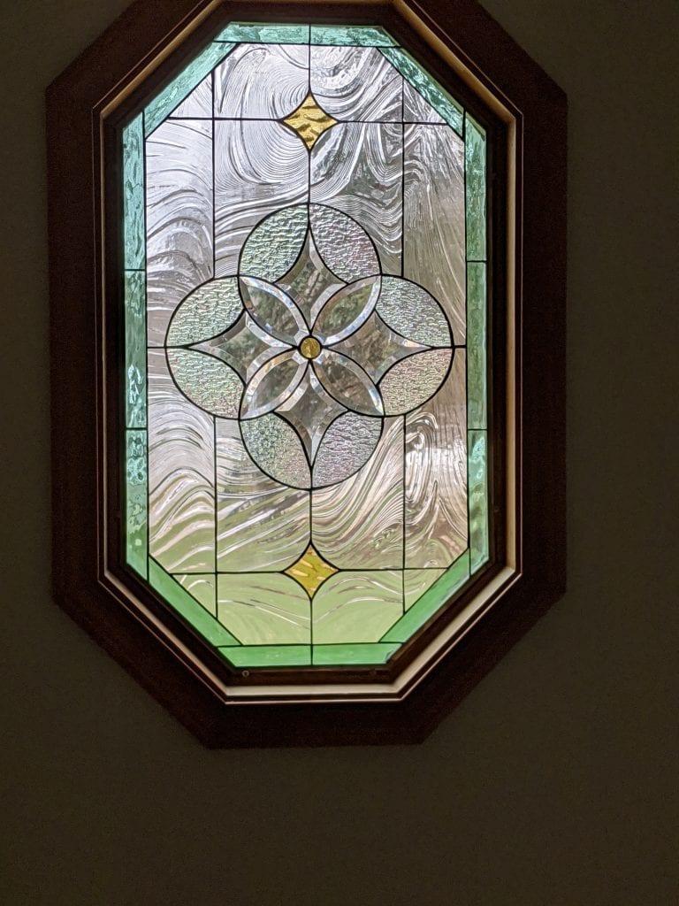 Classic Mission / Craftsman Style Octagonal Window