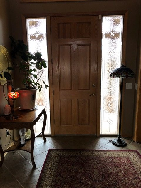 Mountain view Sidelights installed in Omaha