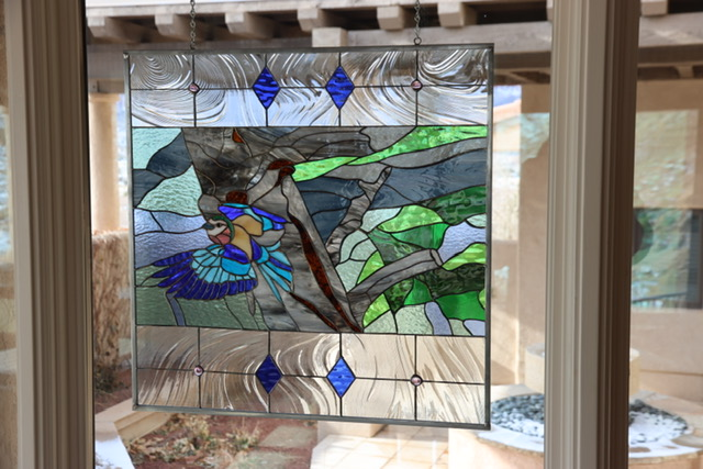 We have turned a Photo into a stained glass