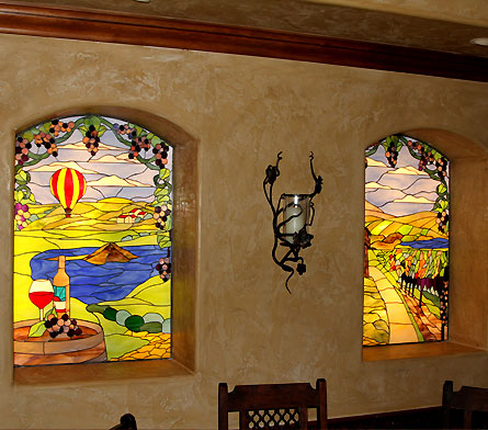 Stained Glass for Restaurants, Pubs, Bars and Casinos