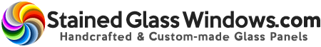 StainedGlassWindows.com Logo