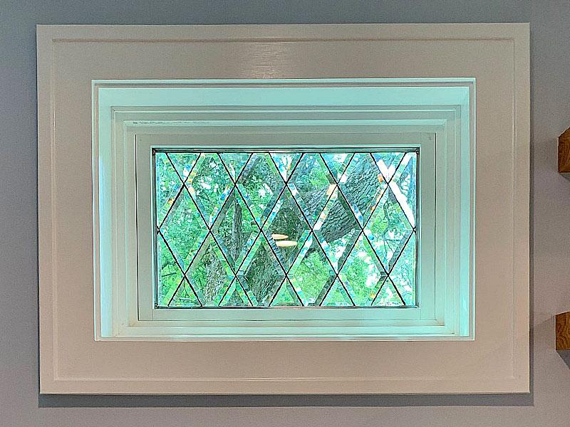 Tudor diamonds windows